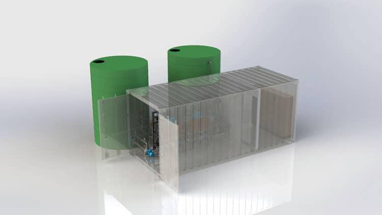 Custom Dust Suppression System