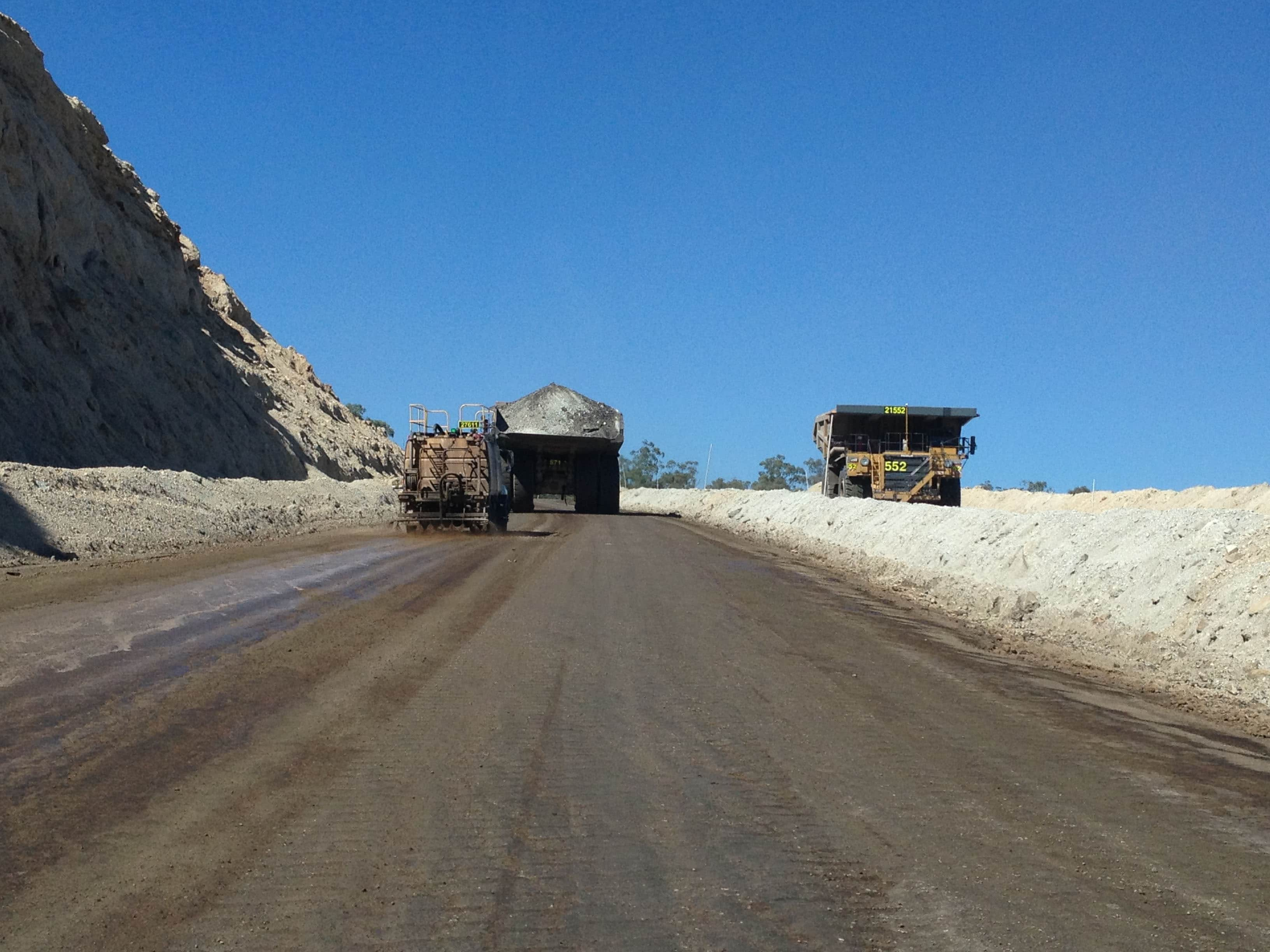 Different Mine Roads Different Dust Control Solutions_